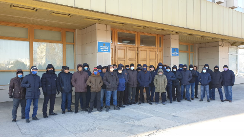 Gewerkschaft der Energieindustrie in Kasachstan bedroht!