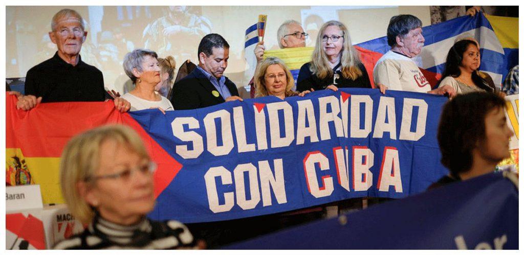 Die Linke war, ist und bleibt solidarisch mit dem sozialistischen Kuba und seiner Revolution!