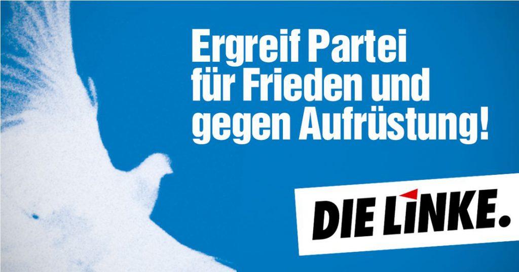 Auslandseinsätze der Bundeswehr und Rüstungsexporte ablehnen!